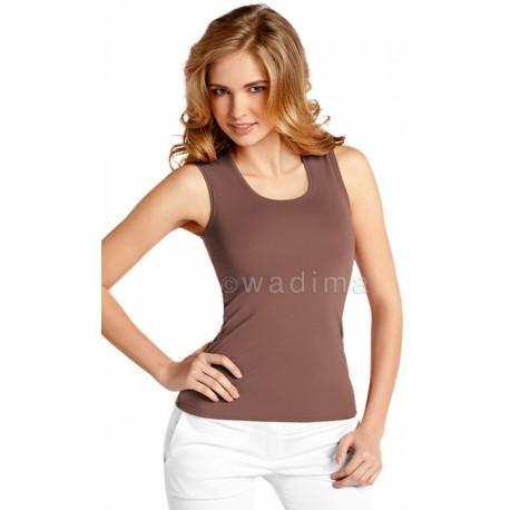 Camiseta Sin Mangas Algodón 100%