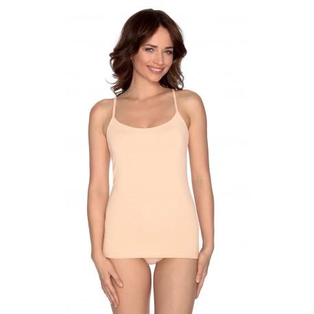 Camiseta Tirantes Mujer Modal+Algodón