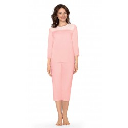 Pijama Mujer 3/4 Modal+Algodón